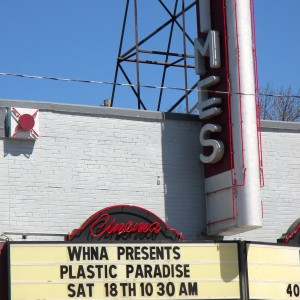 Times Cinema marquee April 18, 2015 Earth Week.
