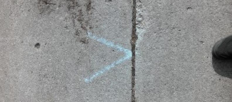 Sidewalk Repair Delayed Until May